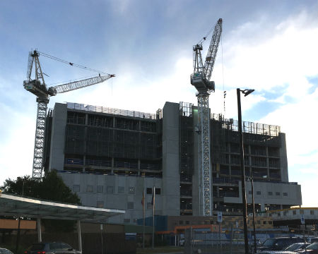 Joan Kirner Hospital Building Construction